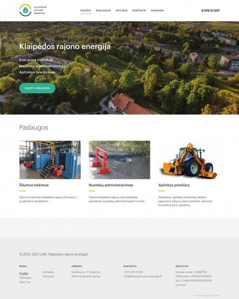 Klaipėdos rajono energija